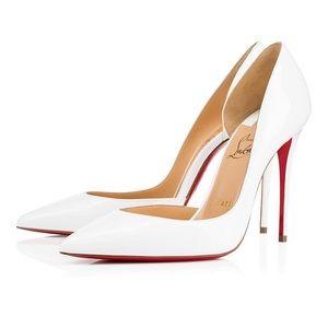 Christian Louboutin White Iriza Heels